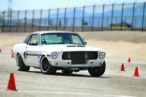 Black 68 Mustang Bangshift Com This 1968 Mustang Is Pro Touring Cool With A Nod Toward California Special