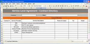 service level agreement sla template instant download