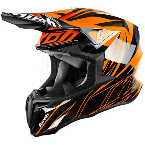 airoh motocross helmets uk 2016 airoh twist helmet evil orange gloss dirtbikexpress
