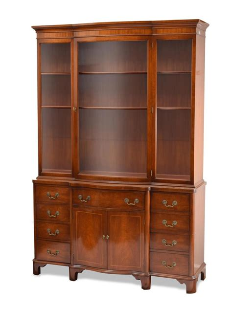 Craigs Furniture by Breakfront Cabinet By Craig Furniture