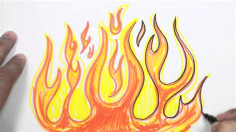 Drawing Flames by Drawings Of Flames Www Pixshark Images