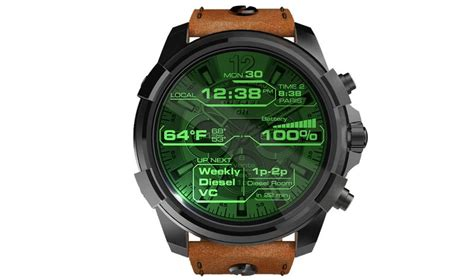 Diesel On Touchscreen Smartwatch   Ausdroid