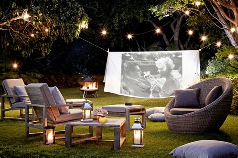 backyard the movie take movie night outdoors garden design ideas garden