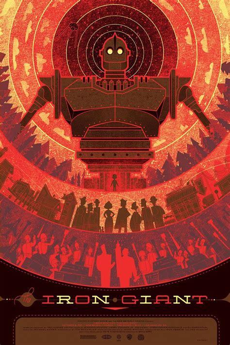 the iron giant the geeky nerfherder movie poster art the iron giant 1999