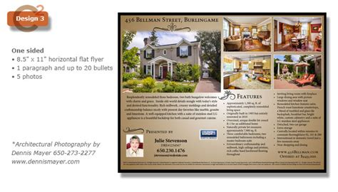 one sided brochure template templates communications squared