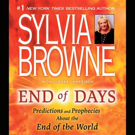michael and the end of the world books end of days abridged audiobook by sylvia browne