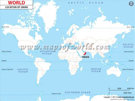 oman in world map where is oman location of oman