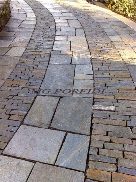pavimenti in luserna pavimentazione in lastre di luserna mg porfidi
