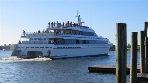 key west boat trip from ft myers key west express high speed ferry