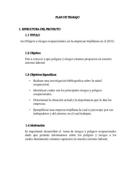 modelo plan de trabajo scribd newhairstylesformen2014 com ejemplo de un plan de un curso de capacitacin ejemplo de