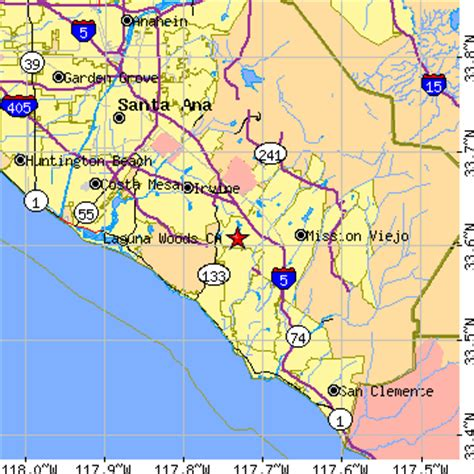 laguna woods, california (ca) ~ population data, races