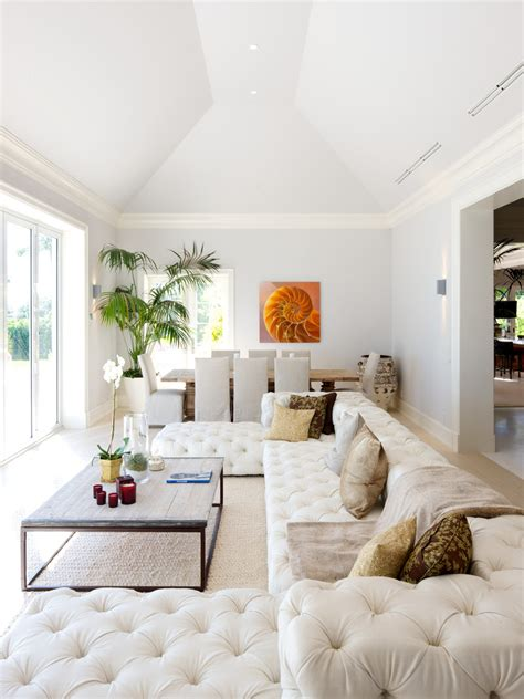 white sofas in living rooms white tufted sofa living room eclectic with none beeyoutifullife
