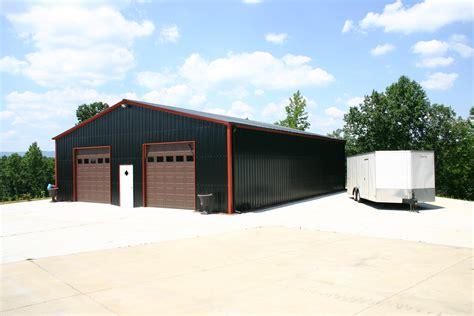 Metal Building Garage Doors Metal Garage Kit With Doors In Arizona What A 30x40 Shop With Storage