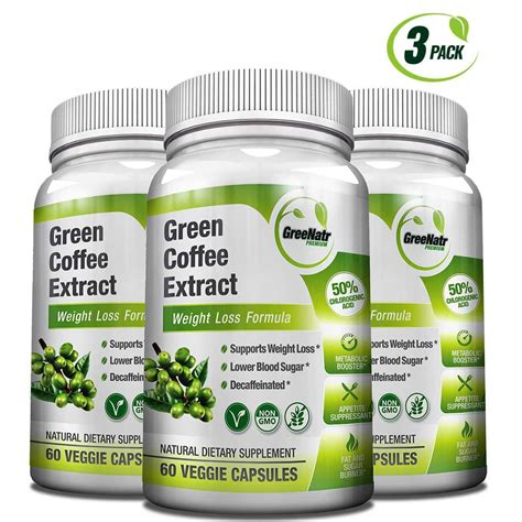 Handle Green Coffee Bean Extract green coffee bean extract 50 chlorogenic acids