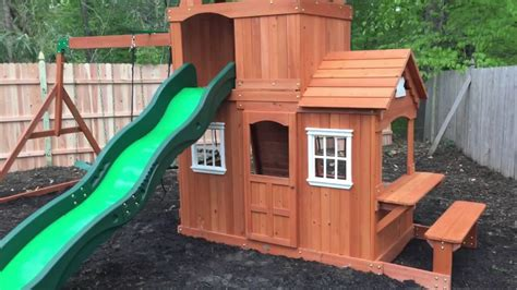 backyard discovery shenandoah playset review install