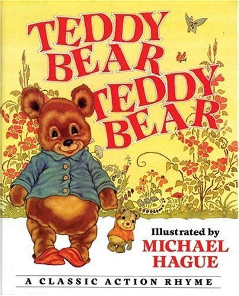 teddy the books teddy teddy a classic rhyme by michael