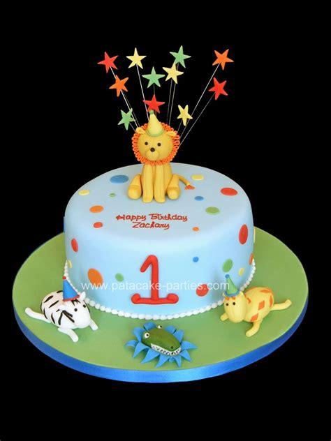 1st Birthday Cake by Pat A Cake 1st Birthday Cake