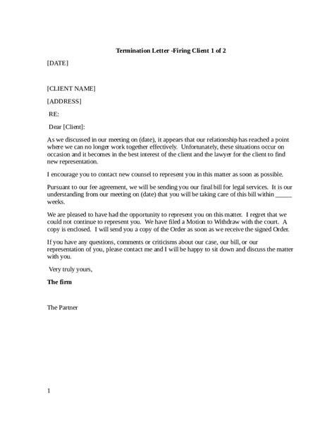 termination letter templates okl mindsprout co