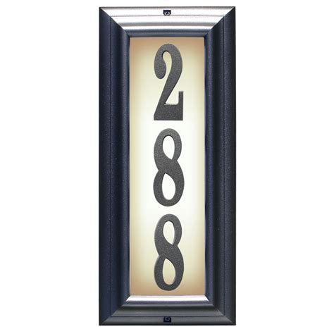 Vertical Address Plaques For House   HomesFeed