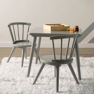 justine 3 table and chair set by delta table and chairs you ll wayfair
