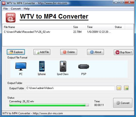 How To Convert Wtv To Mp4 Or Any Other Video Formats | wtv to mp4 converter convert wtv to mp4 for ipad ipod