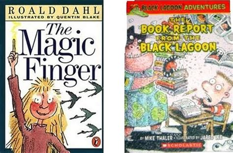 The Book Report From Black Lagoon by Ellis S Theory Of Everything The Magic Finger The Book Report From The Black Lagoon