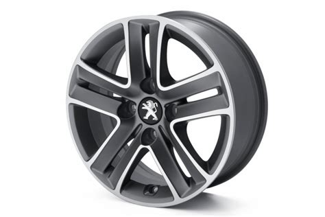 peugeot car wheels genuine peugeot alloy wheels car accessories plus