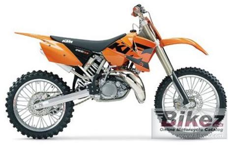 Ktm 200sx For Sale 2004 Ktm 200 Sx Specifications And Pictures