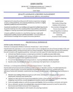 executive resume format template executive resume sles professional resume sles