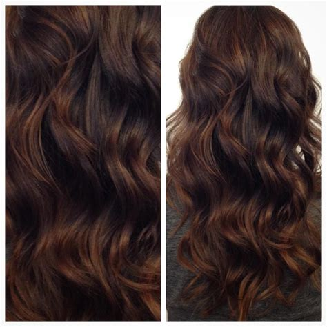 warm brown hair color 171 warm rich chocolate by hairbycattaneo modernsalon