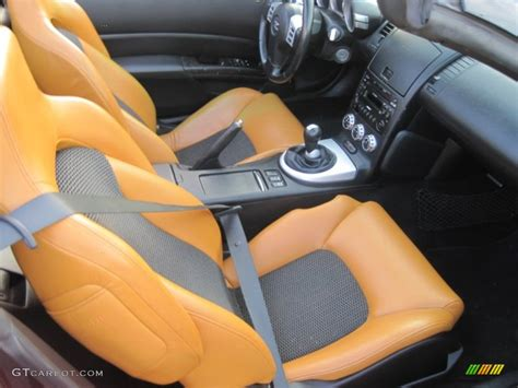 Burnt Orange Leather Interior 2006 Nissan 350z Touring Coupe Photo 41063587 Gtcarlot Com | burnt orange leather interior 2006 nissan 350z touring