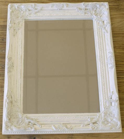 new gold silver gilded or white shabby chic bathroom hall wall small mirror ebay