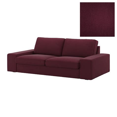purple loveseat sofa ikea kivik 2 seat sofa slipcover loveseat cover dansbo red