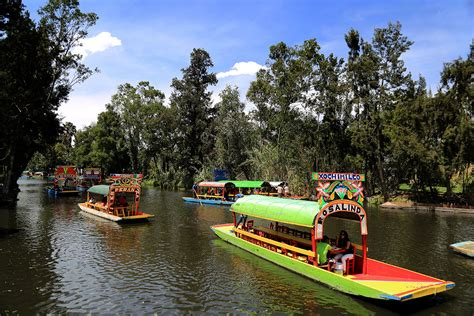 imagenes de paisajes de xochimilco cdmx xochimilco