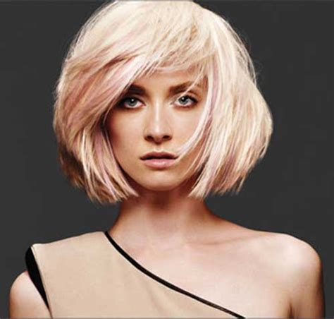 Blonde Bob Pink | 15 short blonde and pink hairstyles short hairstyles