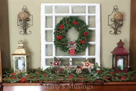 how to decorate a fireplace for christmas how to decorate a quot pretend quot mantel the inexpensive way