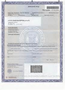 how to order a new title for my car utah charity car donation donate a car in ut car