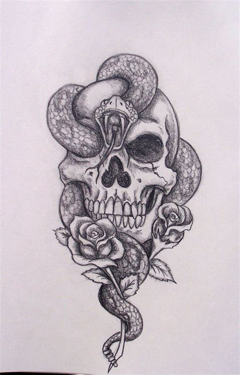 snake and skull tattoo designs skull and snake designs 35 amazing skull and snake
