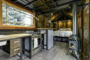this 74k tiny home has an interior that s