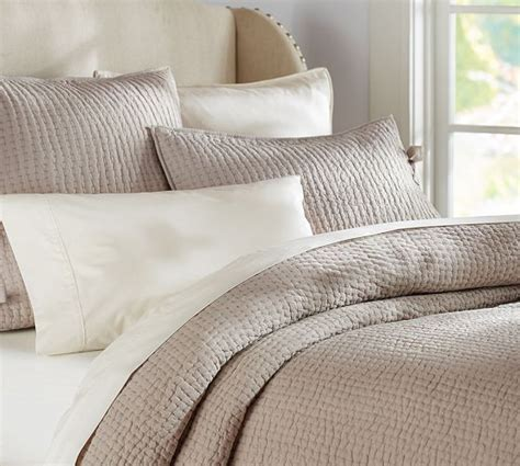 pottery barn coverlets best 25 taupe bedding ideas on pinterest large bed
