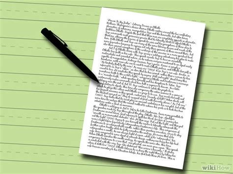 5 Steps Of Writing An Essay by How To Write An Essay With Sle Essays Wikihow