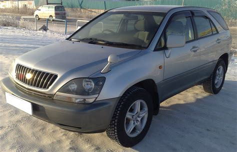 pictures of toyota harrier 1998 toyota harrier pictures information and specs