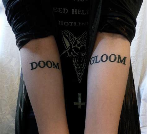 doom tattoo kate or die fuckyeahtattoos my doom and gloom tattoos