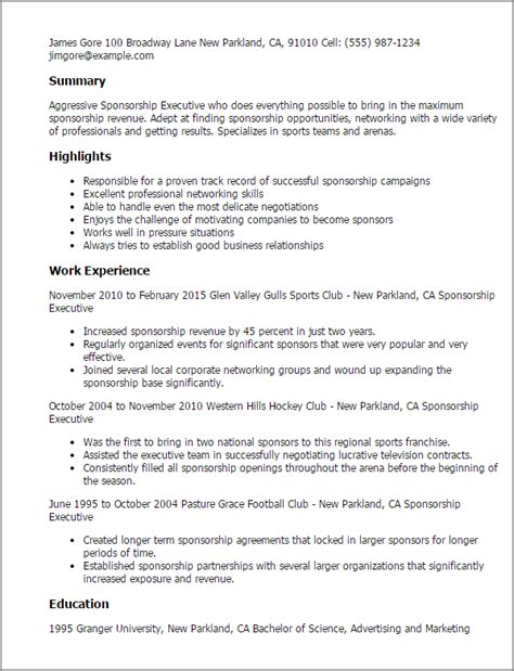Radio Sales Executive Sle Resume by Account Executive Radio Sales Resume