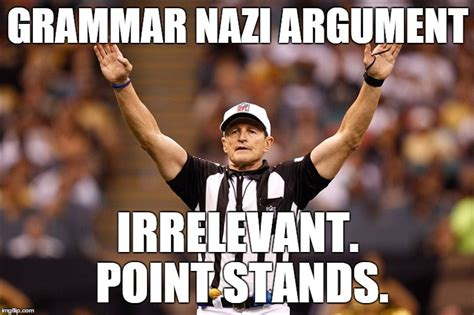 Ed Hochuli Meme - bp waterbury s images imgflip