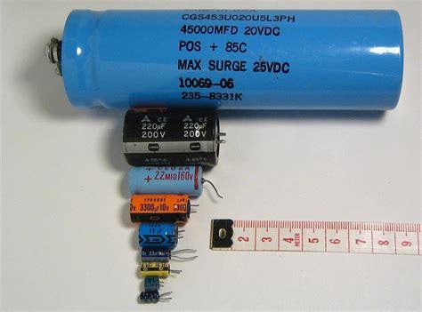 que es capacitor bank condensador electrol 237 tico la enciclopedia libre