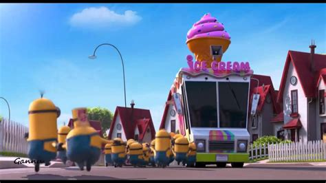 me a truck minions and icecream truck despicable me 2