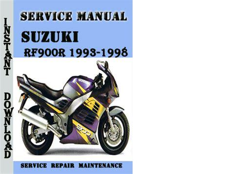 service repair manual free download 1993 suzuki sj spare parts catalogs suzuki rf900r 1993 1998 service repair manual pdf download downlo