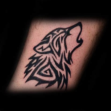 tattoo inspiration wolf 50 tribal wolf tattoo designs for men canine ink ideas