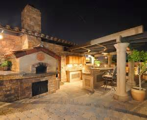 Elegant outdoor pizza oven look other metro contemporary